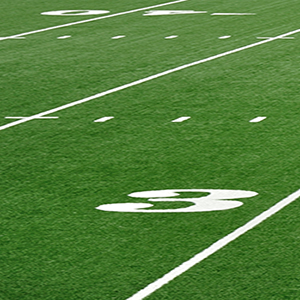 American Football Field Synthetic Turf